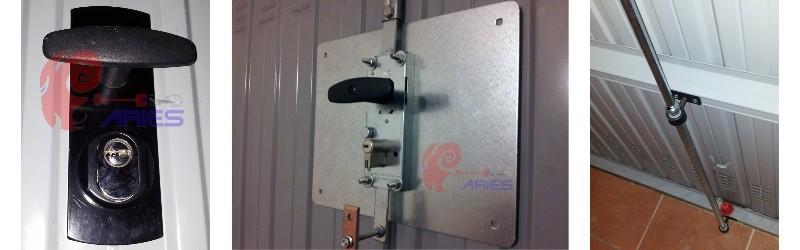 Sicurezza in garage sostituzione serrature per basculanti for Grandi pavimenti del garage