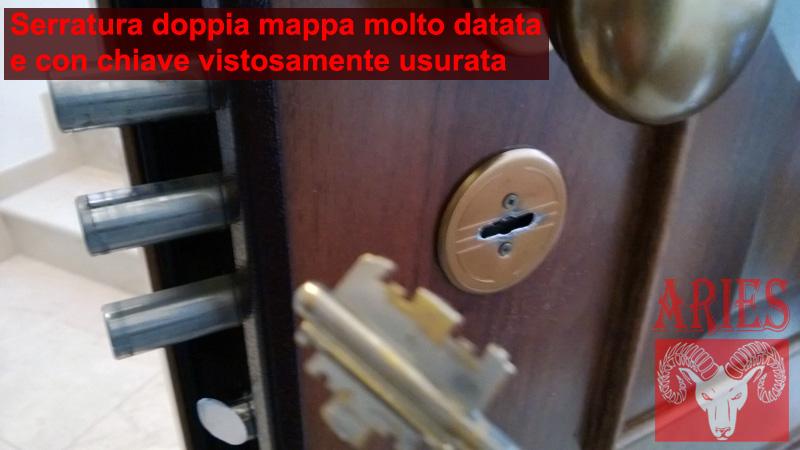 Cambiare serrature for Serratura bloccata chiave non gira