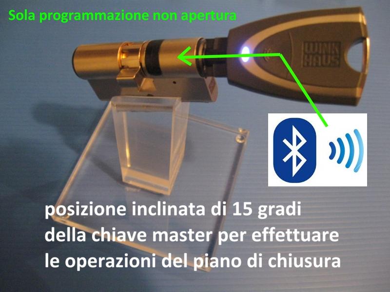 Il cilindro europeo pi sicuro codifica da smartphone for Winkhaus blue compact test
